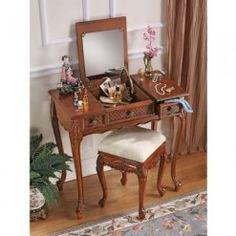 Princess Caroline Vanity Table