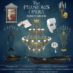 Fancy Decor - The Phantoms Opera