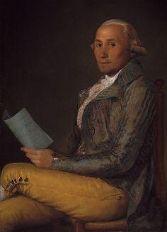 Francisco de Goya | Retrato de Sebastián Martínez y Pérez, 1792