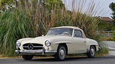 1956 Mercedes-Benz 190SL Roadster.