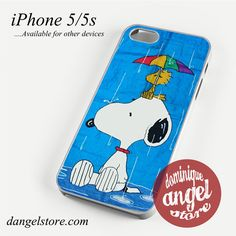 Snoopy In Rain Phone case for iPhone 4/4s/5/5c/5s/6/6 plus