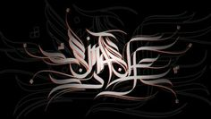 Caligraphy by smash oner, via Behance