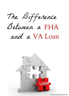 The Difference Between FHA and a VA Loan - Va Mortgage - Watch this to know more about VA Mortgage. - The Difference Between FHA and a VA Loan Home Buying Tips, Buying Your First Home, Home Buying Process, Mortgage Tips, Mortgage Estimator, Mortgage Calculator, Mortgage Rates, Home Improvement Loans, Pret