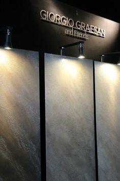 Tre possibili decorazioni con Segui il Tuo Isinto effetto pietra spaccata in tre colori morbidi e molto moderni. #ggf #decorazione #interiors #design #paintwall