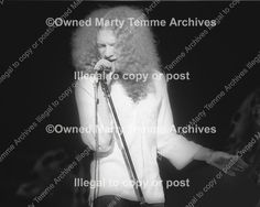 Photo of Lou Gramm of Foreigner performing onstage in 1974 by Marty Temme