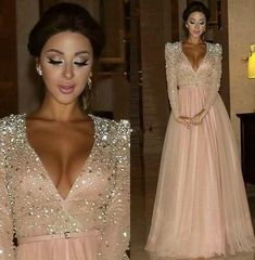 Long Prom Dress, Evening Dresses Sexy, Prom Dress V-neck, V Neck Evening Dresses, Prom Dress A-Line Prom Dresses 2019 Prom Dresses Under 50, Prom Dresses 2016, Prom Dresses Long With Sleeves, Pink Prom Dresses, Prom Dresses With Sleeves, Prom Dresses For Sale, A Line Prom Dresses, Sexy Dresses, Evening Dresses