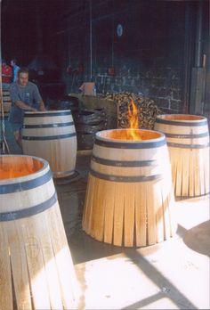 Tonnellerie François Frères- a cooperage where oak barrels are made for wine (Côte d'Or, France)