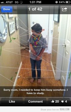 hahaha yes, next time i babysit my brothers i know what i'm gonna do:)