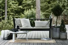 weekdaycarnival : Time to step outside Outdoor Living Patios, Outdoor Sofa, Outdoor Spaces, Outdoor Decor, Harrison House, Small Front Porches, The Doors, Garden Living, Urban Farming