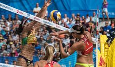 Brazilians turn silver into gold Latest Sports News, Beach Volleyball, One Team, Number One, Basketball Court, Silver, Gold, Hamburg, Yellow