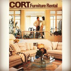 Make yourself at #home this #throwbackthursday. #tbt #interiordesign  | Follow CORT on Instagram! (@ CORT Furniture)