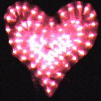 صور قلوب متحركة 2013 صور قلوب رومانسية متحركة 2013 قلوب حمراء 2013 قلوب لامعة 2013 Heart Lights Animated Heart Glitter Graphics