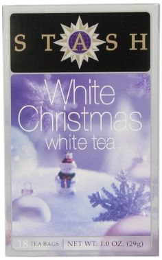 Stash Tea White Christmas White Tea, 18 Count Tea Bags in Foil (Pack of 6) * Be sure to check out this awesome product.