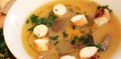 Supa de chimen cu morcov si ciuperci de padure. Romania, Soup, Ethnic Recipes, Salads, Soups