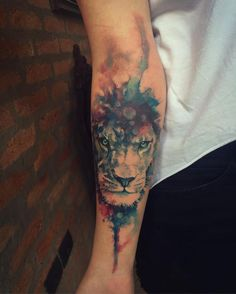 #lion #support_good_tattooers #supportgoodtattooing #inked #electricink #everlastink #cat #cats #cute #lotus #asian #tattoolife #tattoo #tatuagem #tattoos_alday #flowers #patch #like #work #aquarela #art #watercolor #baby #franltattoo @delicate.tattoo @inspirationtatto