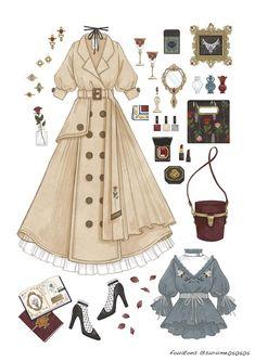 Super Fashion Drawing Dresses Sketches Art 40 Ideas Source by dress sketches Vintage Fashion Sketches, Fashion Design Sketches, Fashion Illustration Vintage, Fashion Vintage, Trendy Fashion, Fashion Art, Fashion Outfits, Fashion Clothes, Fashion Ideas