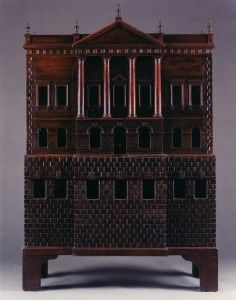 """The manufacture of European dolls' houses, or """"baby houses"""" as they were first called, began as early as the 16th century, with the first known house being built for Duke Albert V of Bavaria. Germany,"""