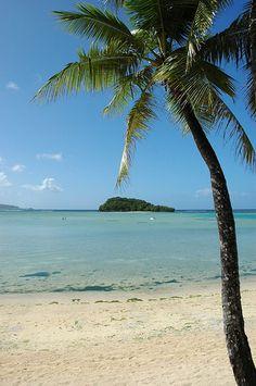 Beach in Guam by cpzhao, via Flickr