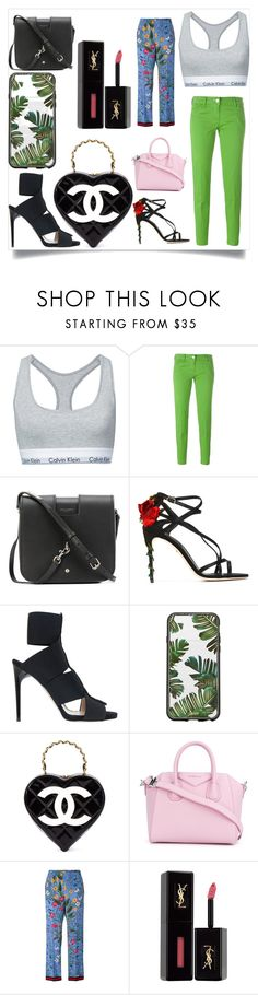 """""""SPRING FASHION"""" by justinallison ❤ liked on Polyvore featuring Calvin Klein, Jacob Cohёn, Yves Saint Laurent, Dolce&Gabbana, Paul Andrew, Sonix, Chanel, Givenchy, Gucci and summertime"""