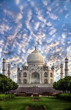 TAJ  MAHAL ,  Angra ,  India