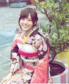 SHIRAISHI_mai 白石麻衣 着物