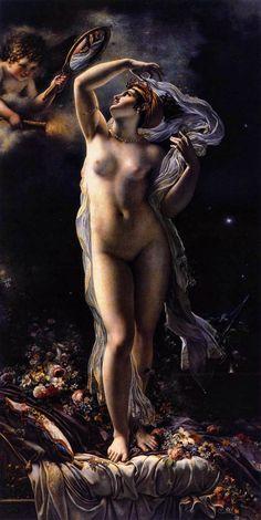 Anne-Louis Girodet-Trioson - Venus: Tags: venus, afrodite, aphrodite, olympians, goddesses,