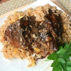 Sweet Glazed Pork #recipe #crockpot #slowcooker #glutenfree