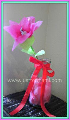 Rosa con centro de Chocolate