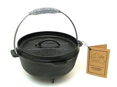 VoojoStore Old Mountain Small Dutch Oven With Feet - Perfect Gift For Men Women Couples Grandpa Father Mother Engagement Wedding Anniversary Christmas Birthday Him Her Sister Wife Husband * You can get additional details at the image link.