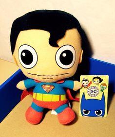 DC Comics Originals SPIDERMAN Super Heroes 18 cm Plush Soft Toy BNWT
