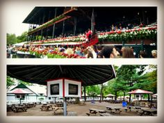 We've got the inside scoop on where to sit at the Saratoga Springs Racetrack! #saratogasprings #racetrack