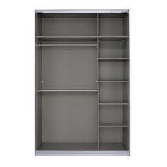 2 Door Sliding Wardrobe Rauch Size: x x Interior Option: Premium - Size: x x Buy Wardrobe, 3 Door Sliding Wardrobe, 4 Door Wardrobe, Wardrobe Sets, Bedroom Wardrobe, Sliding Doors, Wardrobe With Dressing Table, Tall Cabinet Storage, Locker Storage