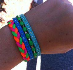 Tennis plus homemade bracelets Homemade Bracelets, Diy Jewelry, Tennis, Accessories, Handmade Bracelets, Diy Jewelry Making, Jewelry Accessories