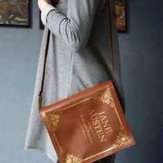 Bolsa livro Jane Austen