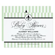 693 Best Spring Personalized Baby Shower Invitations Images On Pinterest
