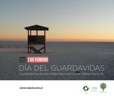 5 de febrero: Día del Guardavidas