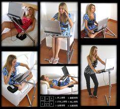 portátil plegable mesa de ordenador portátil de soporte de escritorio sofá cama-imagen-Mesa plegable-Identificación del producto:635980154-spanish.alibaba.com