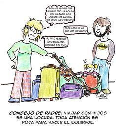 Consejo de padre (35): De viaje...