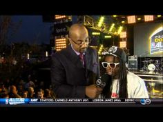 Lil Wayne's odd interview at the NBA All-Star game.