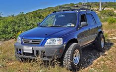 customized+1998+Honda+CR-v | Honda CRV lift kit and suspension