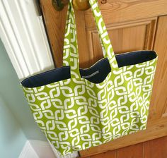 Handmade Jane: Reversible Bag tutorial
