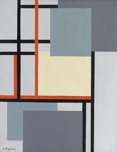 quincampoix:  Mauro Reggiani, Composizione N. 4, 1965