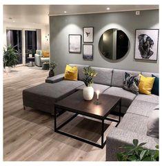 Mirror Decor Living Room, Living Room Art, Home And Living, Living Room Designs, Decor Room, Bedroom Decor, Small Living, Modern Living, Living Room Wallpaper