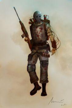 Steampunk Soldier - Incub by ikkake.deviantart.com on @deviantART