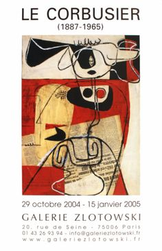 Galerie Zlotowski Print at Art.com http://www.art.com/products/p10049767032-sa-i5829219/le-corbusier-galerie-zlotowski.htm?sorig=cat=206581=206581=ce7ad7d753754f69b2d4bb2bbdf1c33e