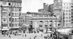 Büyük Maksim 1970lerin sonlarınan bir arşiv .İki yanında da 2.Ulusal ve de yanında 1970lerin başındaki kötü mimari yapılanma görülüyor.