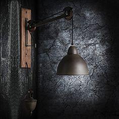 speciale design stile vintage pastorale lampada da parete coulisse industriale del 2015 a €242.81