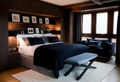 Ski Chalet in Val d'Isére...Contemporary Bedroom by Inspired Design Ltd