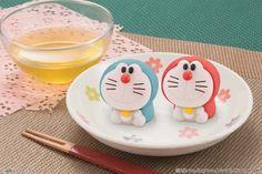可愛すぎて食べられない!和菓子「食べマス ドラえもん」2種登場2016