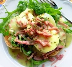 """California-Style Eggs Benedict: """"This was the ultimate Sunday brunch treat for me and my husband. We both absolutely loved this meal."""" -French Tart"""